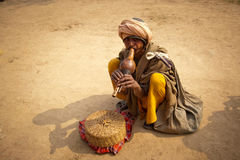 Snake charmers Royalty Free Stock Photo