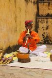 Snake charmers Stock Images