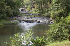 Snake Creek at Historic Banning Mills Royalty Free Stock Images