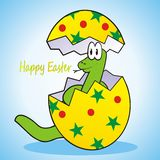 Snake-easter Royalty Free Stock Photography