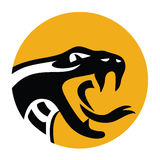 Snake emblem Stock Photo