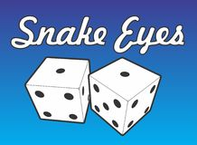 Snake Eyes Stock Image