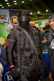 Snake Eyes at Baltimore Comicon. Baltimore Comicon cosplay costume play Snake Eyes and GI Joe royalty free stock photos