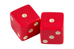 Snake Eyes Dice Royalty Free Stock Images