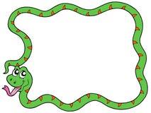 Snake frame 2 vector illustration