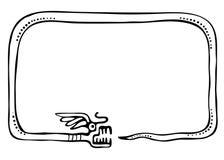 Snake frame, design element Royalty Free Stock Photo