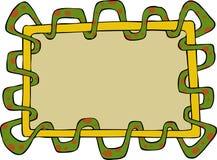 Snake frame Stock Image