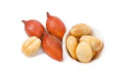 Snake Fruit, Salak or Sala Fruit of Thailand. royalty free stock image