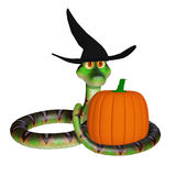 Snake halloween Stock Photo