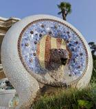 Snake head mosaic Royalty Free Stock Photo