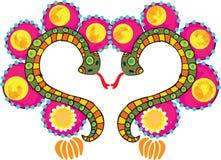 Snake heart Stock Images