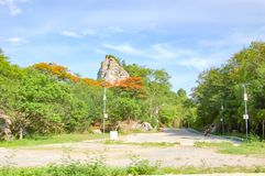 Snake Hill Park, Ratchaburi. stock photo