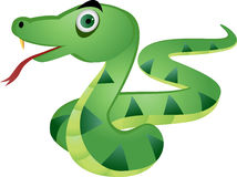 Snake illustration Royalty Free Stock Photos