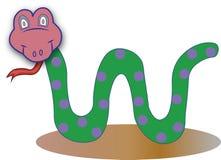 Snake ilustration vector stock images