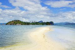 Snake Island. El Nido, Philippines Royalty Free Stock Photos