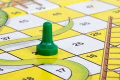 Snake and ladder board game Stock Photos
