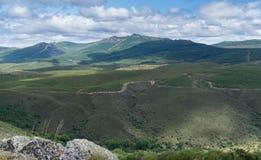 Snake mountain in Spain Stock Photos