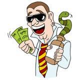 Snake Oil Salesman Royalty Free Stock Photo