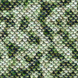 Snake pattern, seamless tiling Royalty Free Stock Image
