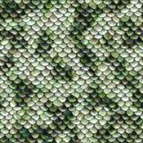 Snake pattern, seamless tiling Royalty Free Stock Image