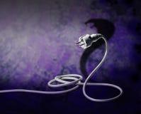 Snake or plug Royalty Free Stock Photo