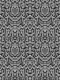 Snake python skin texture. Seamless pattern black on white background. Royalty Free Stock Images