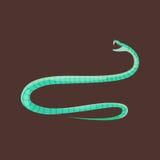 Snake reptile cartoon vector Royalty Free Stock Photo