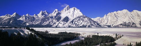 Snake River Royalty Free Stock Images