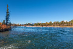 Snake River in Autumn Royalty Free Stock Photos