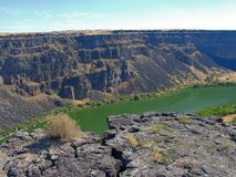 Snake River Canyon Royalty Free Stock Images