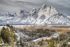 Snake River, Grand Tetons Royalty Free Stock Image