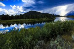 Snake River Late Afternoon Stock Image