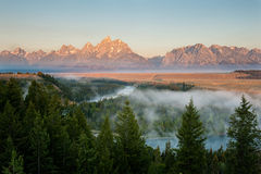 Snake River Overlook Stock Images