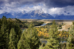 Snake River Overlook Stock Photography