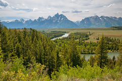 Snake River Overlook Stock Image