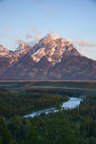 Snake river overlook Royalty Free Stock Photography