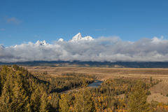 Snake River Overlook Royalty Free Stock Image