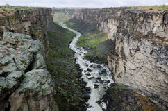 Snake River Schlucht stockfoto