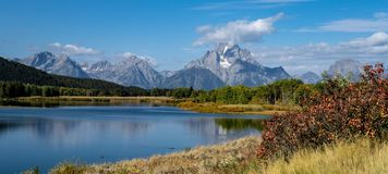 Snake River in Autumn stock image
