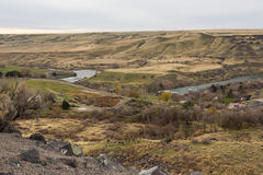 Snake river valley Stock Image