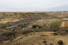 Snake river valley Royalty Free Stock Image