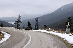 Snake road Stock Image