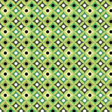 Snake seamless pattern. Green abstract geometric seamless pattern Stock Illustration