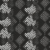 Snake skin artificial seamless vector texture. Royalty Free Stock Images