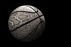 Snake skin basketball Royalty Free Stock Photos
