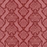 Snake Skin Colorful Animal Pink Seamless Pattern. Snake skin pink and maroon seamless pattern. Animal colorful repeat wallpaper for textile prints, backgrounds vector illustration