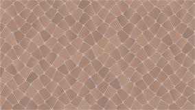 Snake skin pattern. Broun in eps stock illustration