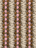 Snake Skin Pattern Stock Photo