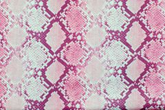 Snake skin pattern texture repeating seamless pink . Vector. Texture snake. Fashionable print. Fashion and stylish background.  stock photography