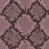 Snake Skin Colorful Animal Pink Seamless Pattern. Snake skin pink and maroon seamless pattern. Animal colorful repeat wallpaper for textile prints, backgrounds royalty free illustration